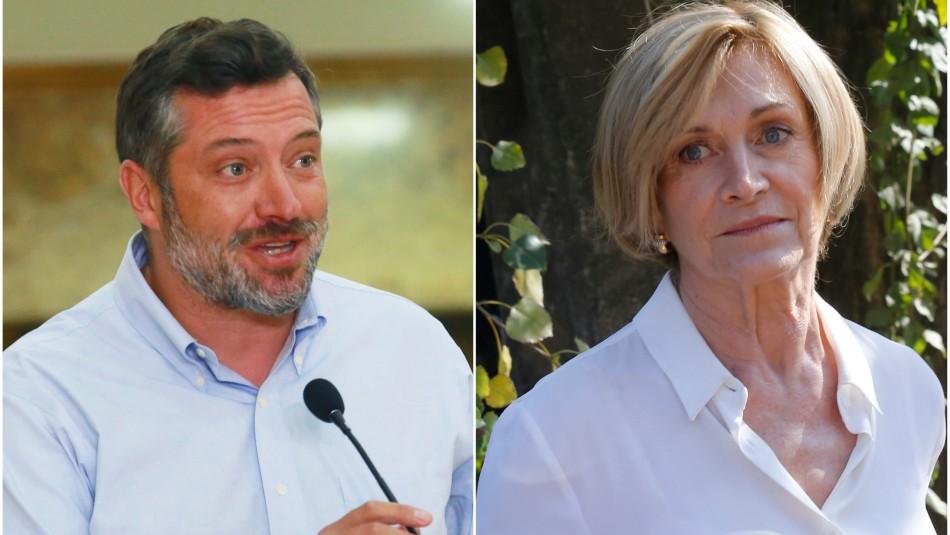 Las declaraciones cruzadas entre Matthei y Sichel en medio de un tenso ambiente en Chile Vamos