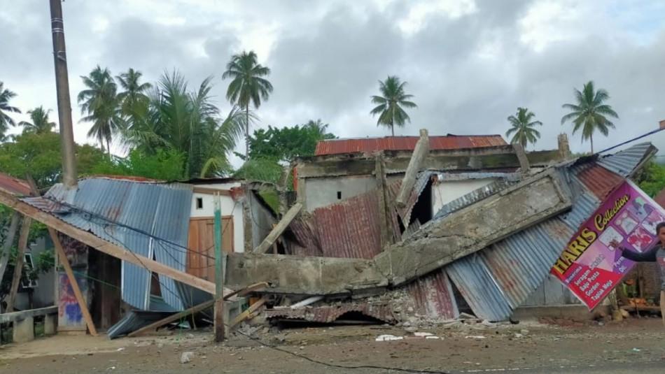 Terremoto en Indonesia deja al menos tres muertos y 24 heridos