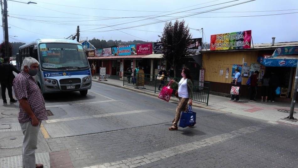 Las 42 comunas que se encuentran actualmente en Fase 1 de Cuarentena