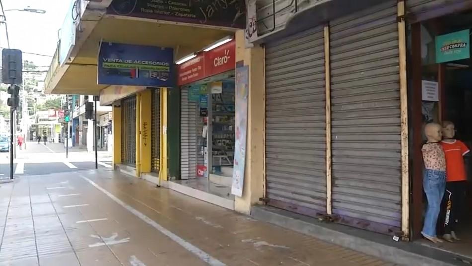 Comerciantes de Talcahuano se rebelan a la cuarentena y abren sus locales