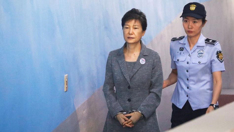 Confirman pena de 20 años de cárcel para la expresidenta surcoreana por corrupción