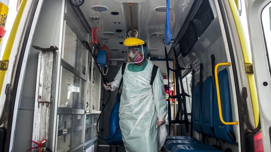 Balance sobre coronavirus: Nuevamente se superaron los 4 mil contagios en el país