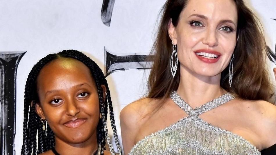 Angelina Jolie sorprende con unos ajustados jeans para ir a comprar revistas con su hija Zahara