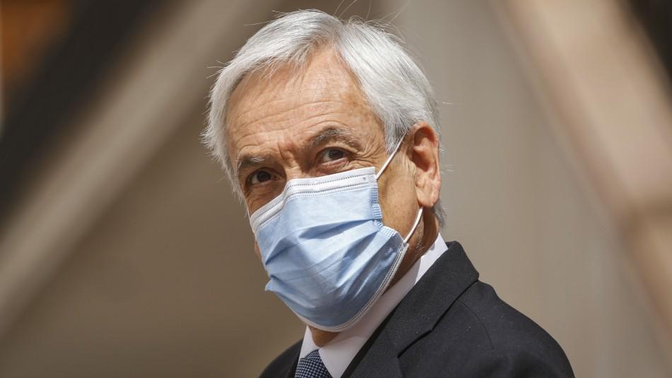 Encuesta Cadem: Aprobación del Presidente Sebastián Piñera se mantiene en torno al 17%
