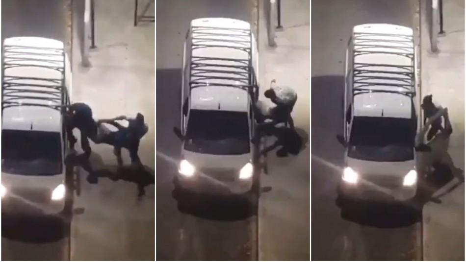 Descartan secuestro de hombre en el centro de Santiago