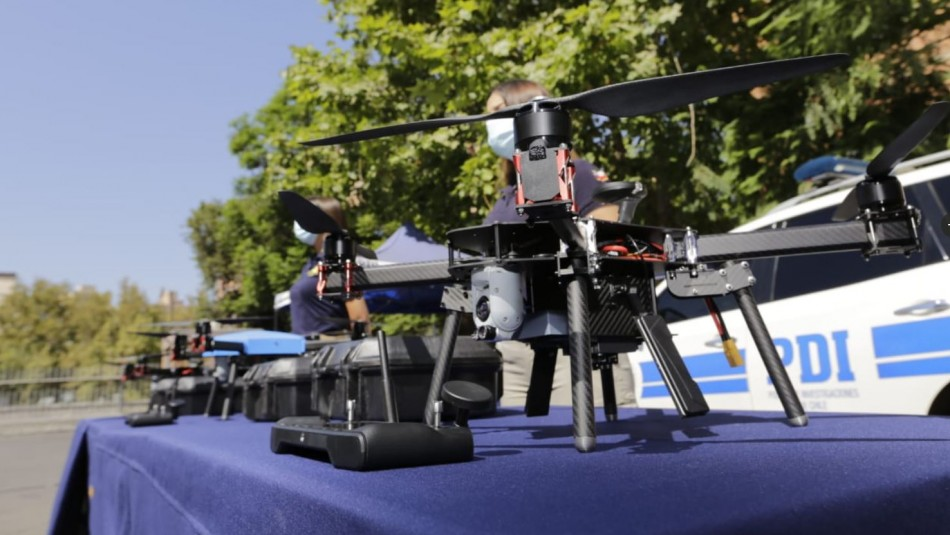 Combate a fiestas clandestinas: Drones con cámaras Full HD y térmica reforzarán fiscalizaciones