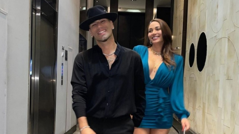Con un asado dominguero Lisandra Silva desmiente los rumores de ruptura con Raúl Peralta