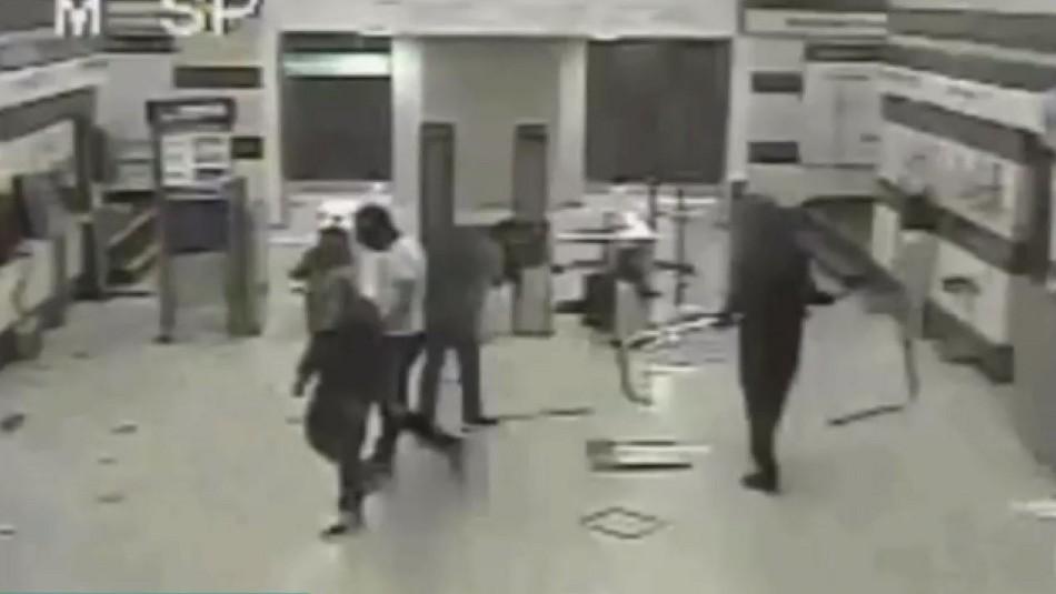 Anulan juicio que absolvió a tío y sobrino de incendiar estación Pedrero del Metro