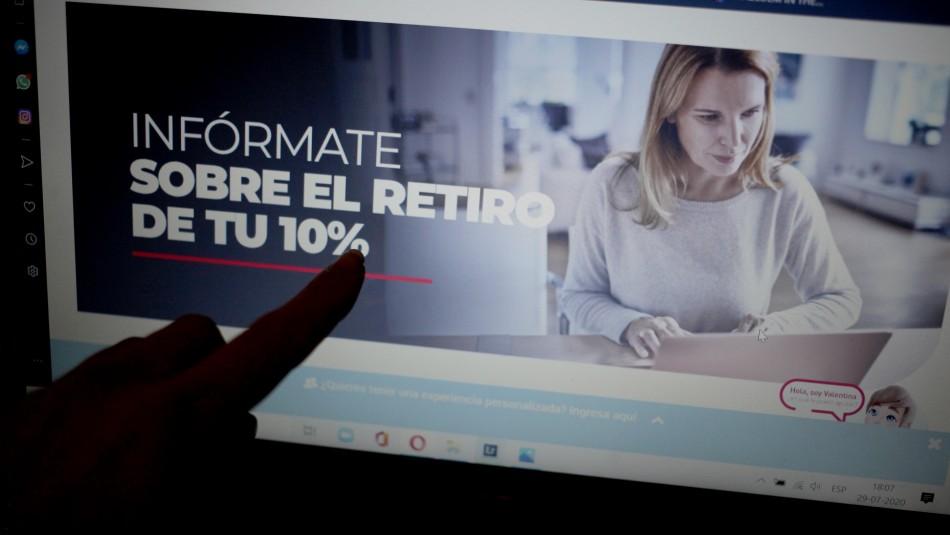 Efectos del retiro de fondos AFP: Estiman que jubilaciones bajarían un 20%