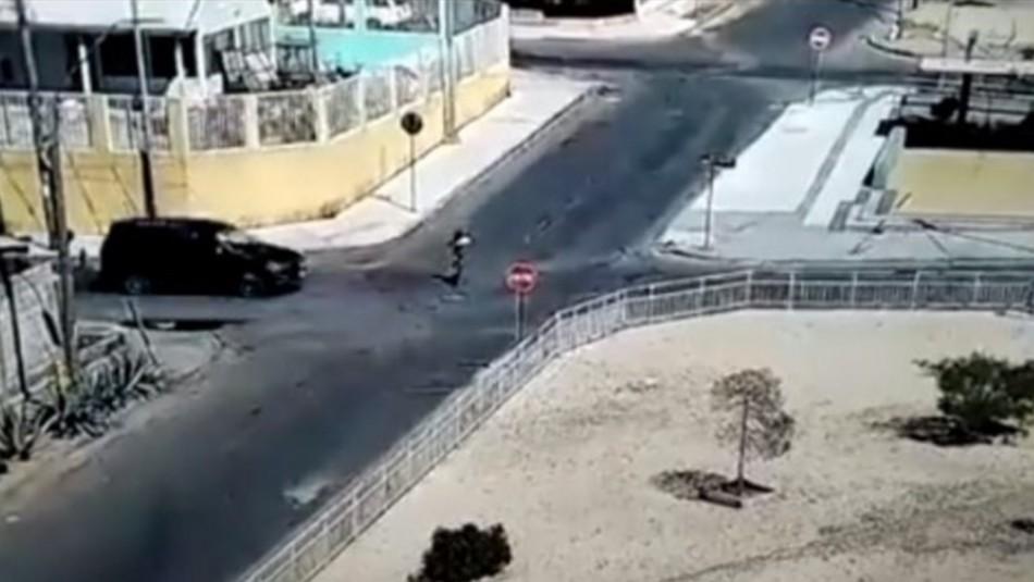 Video: Chofer se da a la fuga tras impactar violentamente a menor de 12 años en scooter