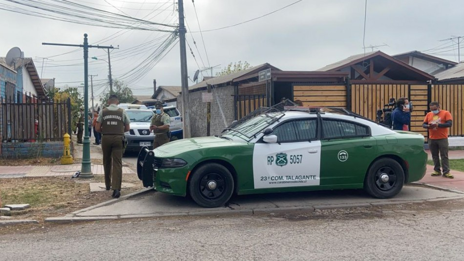 Femicidio en Talagante: Acusado de asesinar a su pareja fue detenido por la PDI