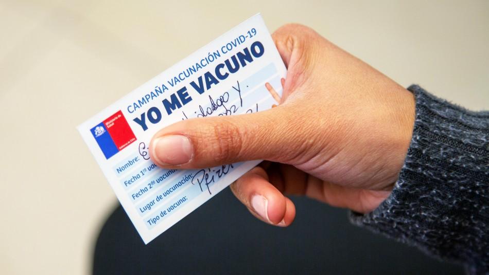 Gobierno anunciará mediante sitio web el calendario de vacunación contra el coronavirus