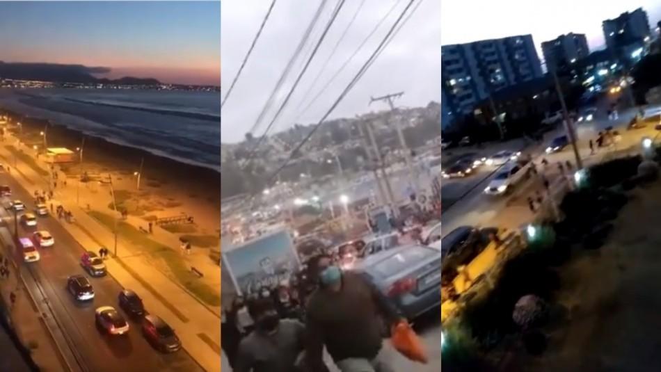 Mensaje de evacuación erróneo de la Onemi provocó confusión en localidades costeras