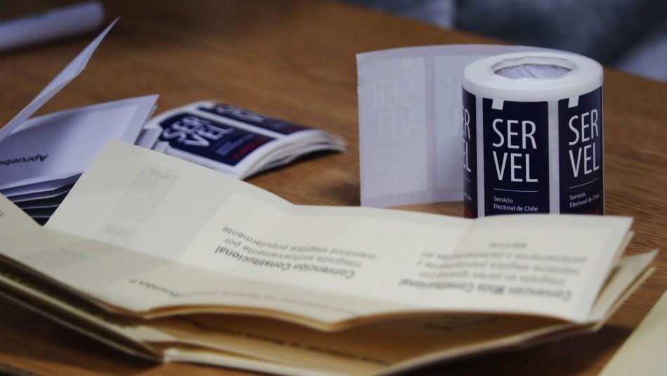 Servel: Se aceptaron 1.373 candidaturas y se rechazaron 189 a convencionales constituyentes