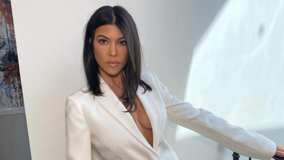 Kourtney Kardashian tendría un romance con integrante de la banda Blink-182