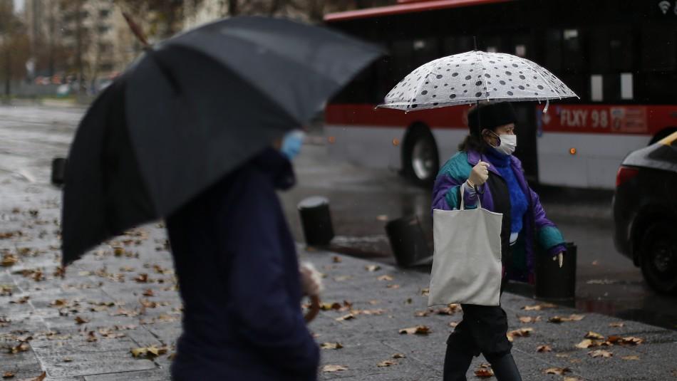 Pronostican alta posibilidad de precipitaciones en Santiago para este fin de semana