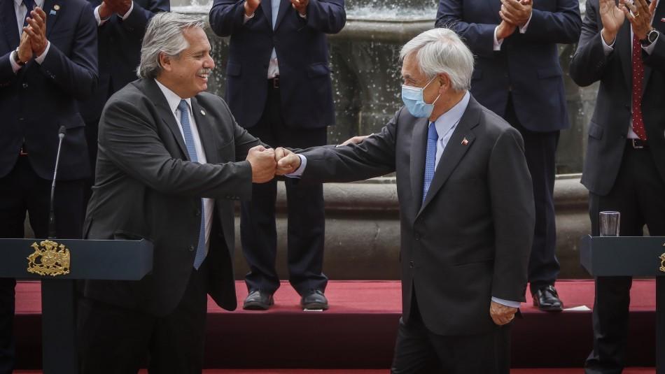De roaming a licencias de conducir: Los acuerdos firmados por presidentes de Chile y Argentina
