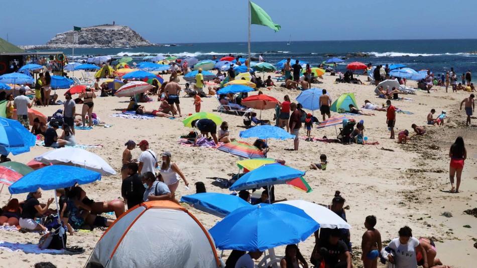 Los balnearios en Chile con menos contagios de coronavirus.