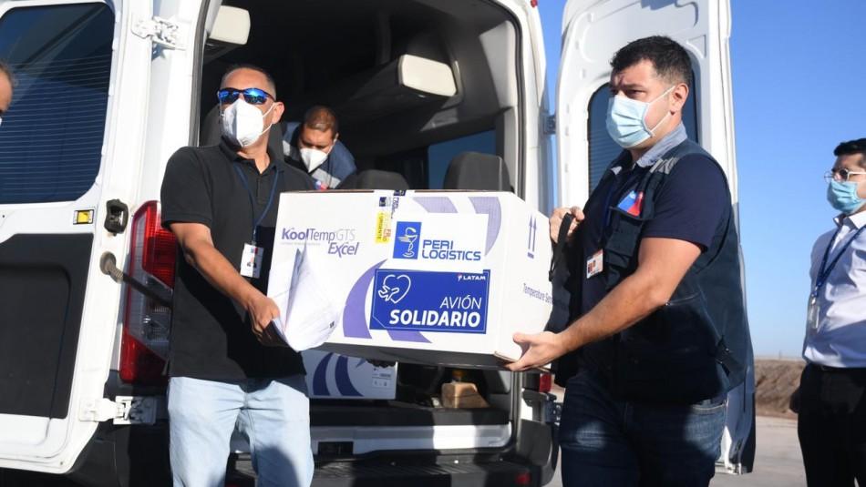 Gobierno anuncia que ya comenzó el proceso de distribución de vacunas Sinovac en el país