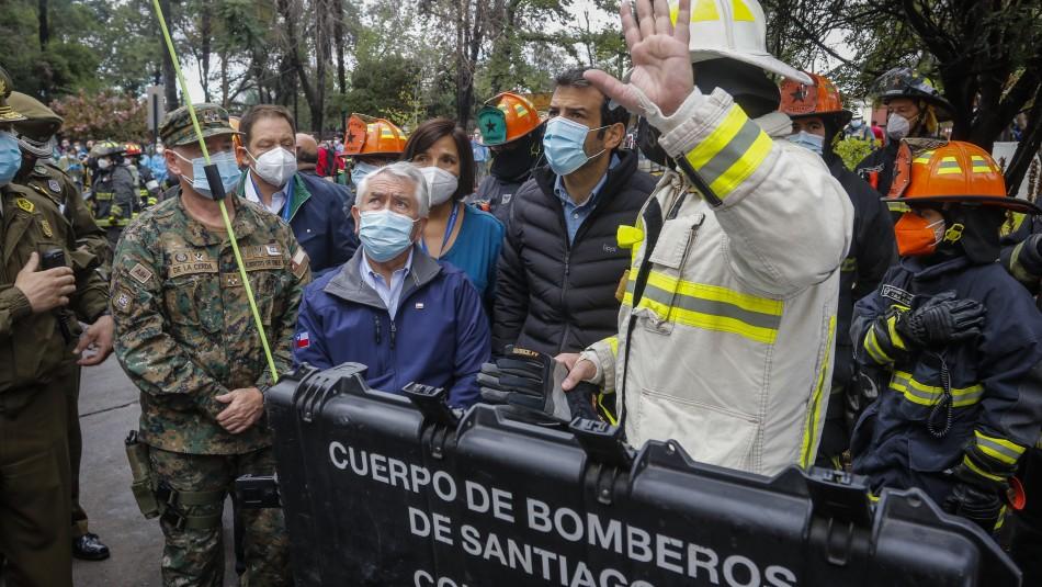 Ministro Paris por incendio en Hospital San Borja: