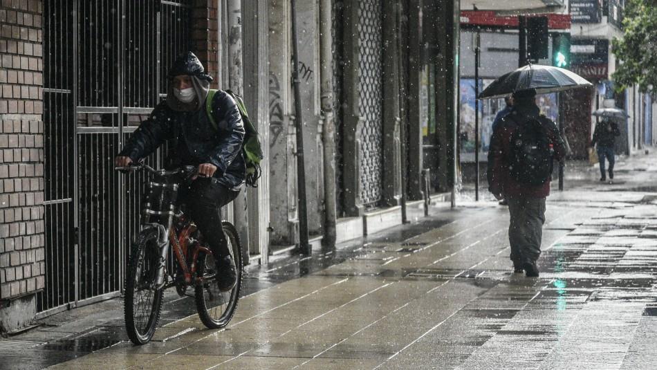 Meteorología y lluvia en zona centro-sur de Chile: