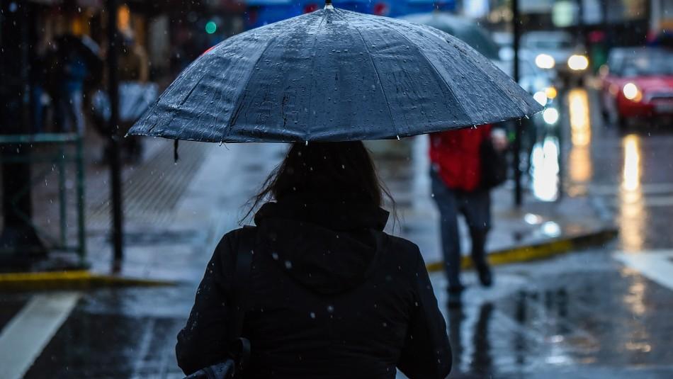 Lluvias se reactivarán durante la tarde de este domingo en la zona central del país