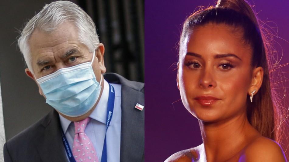 Ministro Paris por fiesta clandestina de Camila Gallardo: