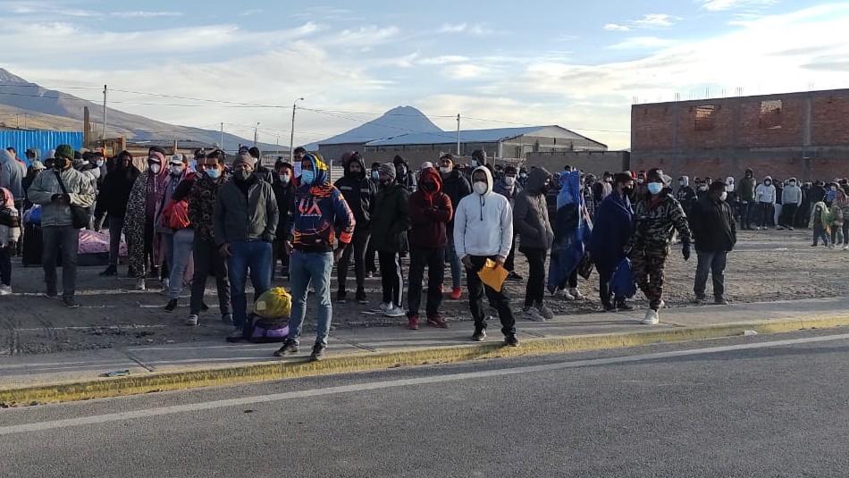 Ediles nortinos afectados por crisis migratoria: