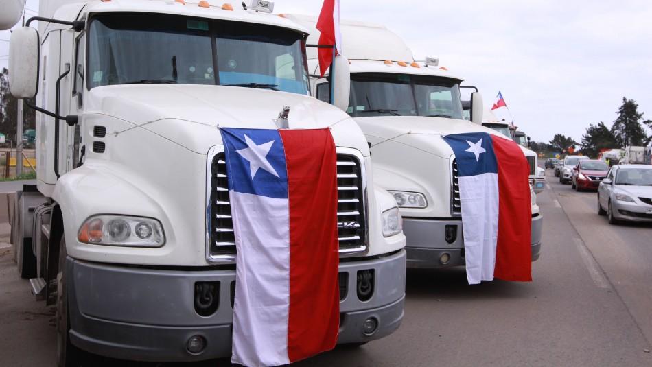 Camioneros no descartan tomarse las carreteras tras graves hechos de violencia en La Araucanía
