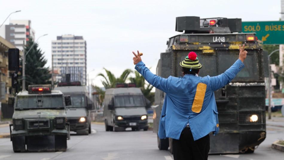 Manifestaciones se registran en distintos puntos del país por muerte de malabarista