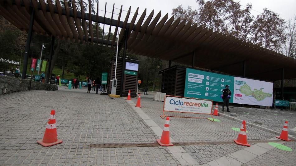 Parquemet reabre los fines de semana: Acceso es peatonal y zoológico se encuentra cerrado