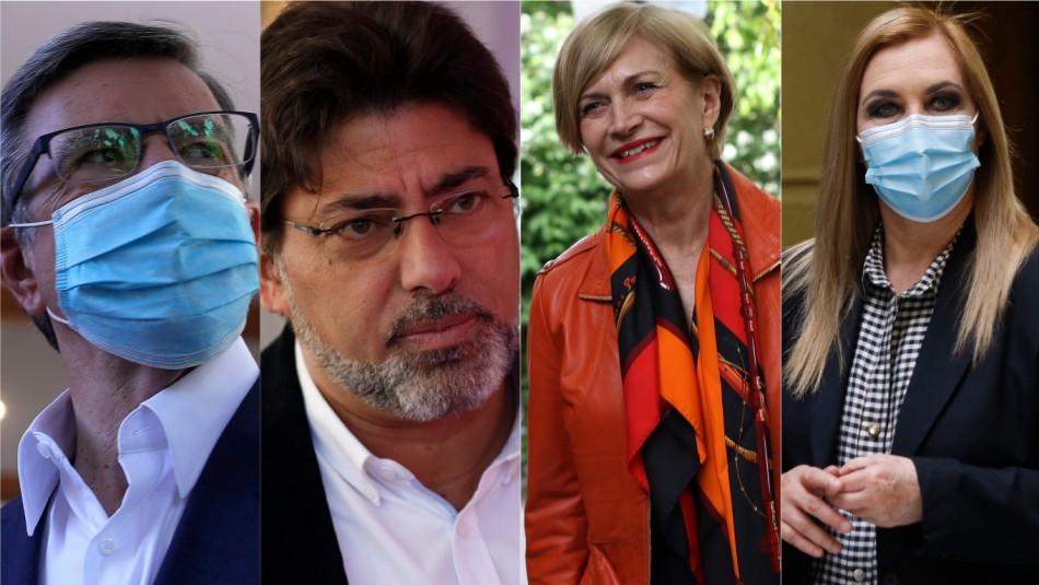 Cadem: Lavín y Jadue bajan en preferencias presidenciales mientras que suben Matthei y Jiles