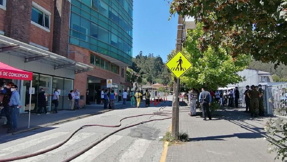Evacuación preventiva en cercanías de Sanatorio Alemán de Concepción por fuerte olor