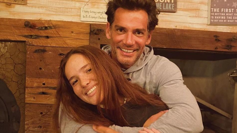 Cristián de la Fuente aclaró la relación entre su hija y Máximo Menem