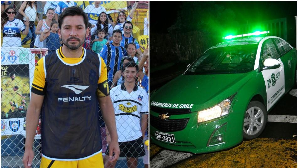 Carabineros frustra asalto a casa de exfutbolista Francisco Arrué: Solo hay un detenido
