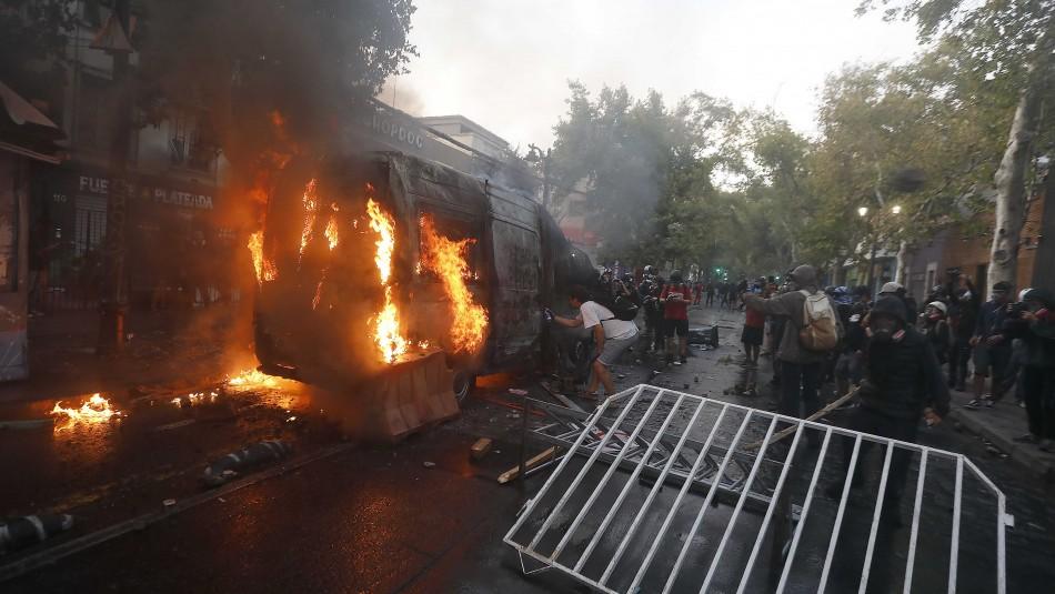 Galli por ataque a vehículo policial: