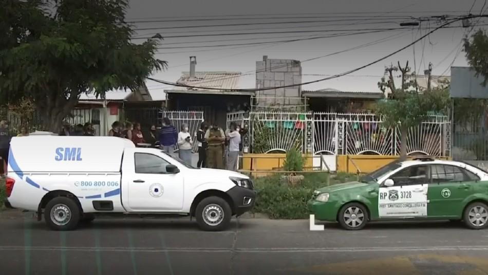 Investigan femicidio en Puente Alto.