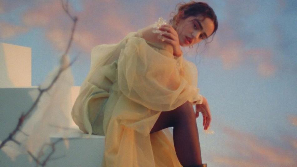 El exclusivo vestido que usó Rosalía en el video