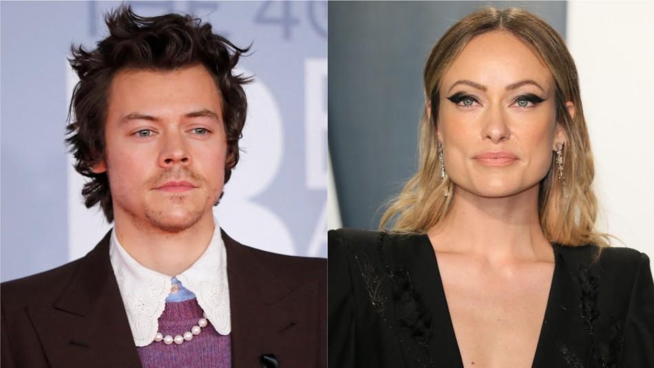 La comentada foto de Harry Styles y Olivia Wilde en grabaciones de nueva película