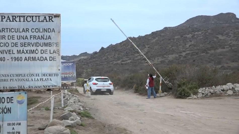 Impiden acceso a playas en Chile.