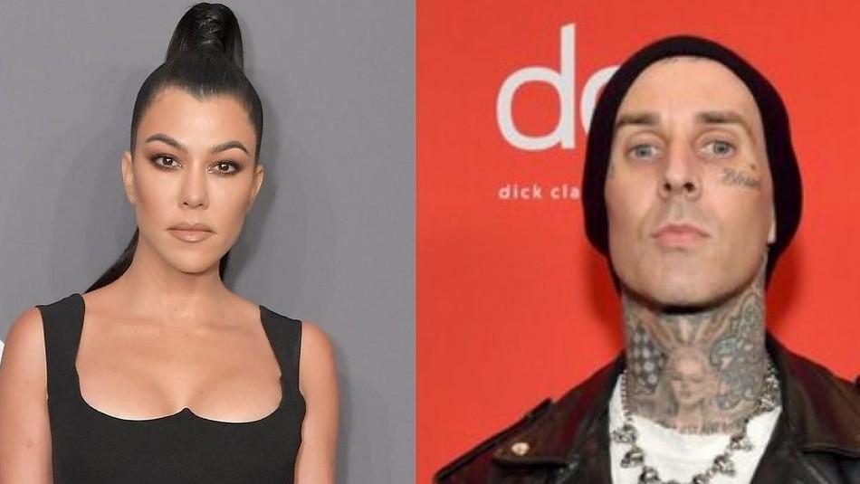 Kourtney Kardashian grita a los cuatro vientos que está enamorada del músico Travis Barker