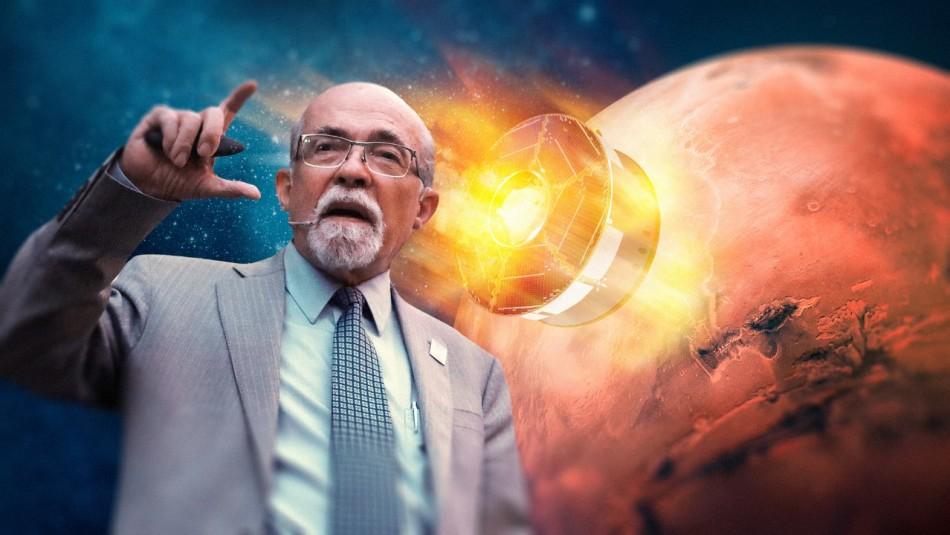 En busca de vida marciana: José Maza comentará histórico arribo del Perseverance en Marte
