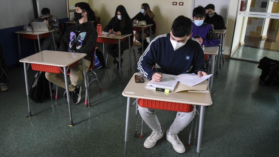 Las condiciones que pone el Colegio de Profesores para volver a clases presenciales