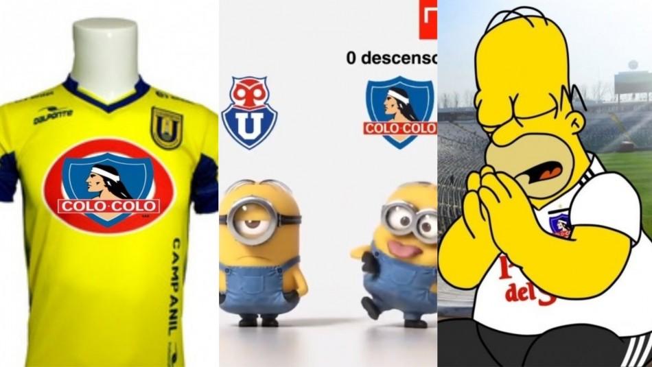 Los memes que dejó el partido Colo Colo-Universidad de Concepción en Talca