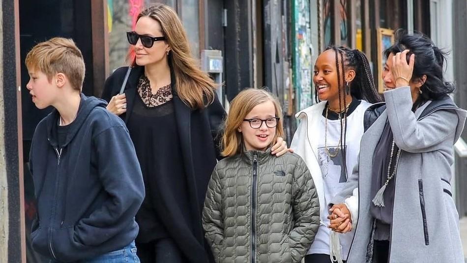 El estilo femenino, casual y andrógino de Shiloh, Zahara y Vivienne: Las hijas de Angelina Jolie