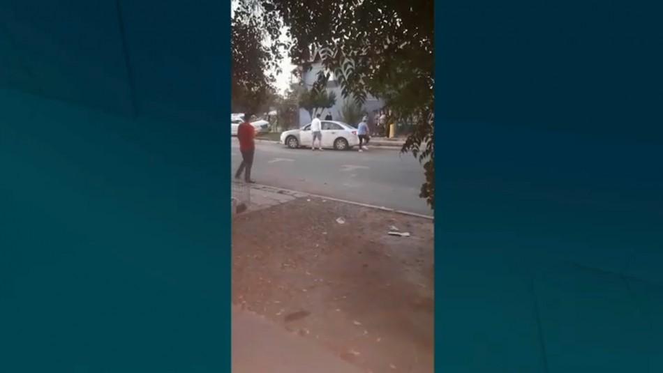 Hombre es asesinado a tiros por sujetos tras sostener una discusión en Cerrillos