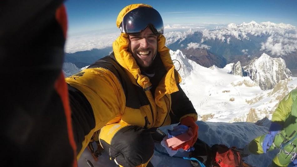 Declaran muerto a montañista chileno Juan Pablo Mohr