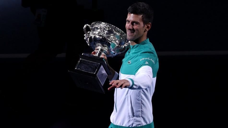 Novak Djokovic nuevamente campeón en Australia.