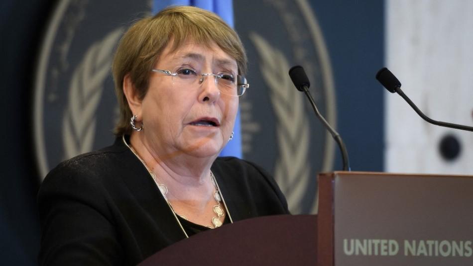 Bachelet confirma