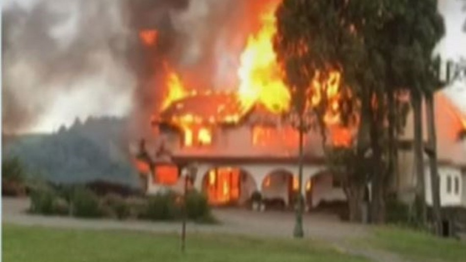Tres ataques incendiarios se dieron en las últimas horas en la región de la Araucanía